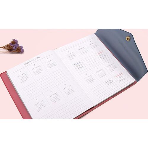 Pleple 2019 Design My Life Envelope Medium Dated Weekly Planner