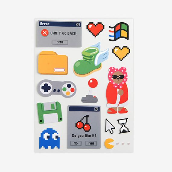 Dailylike Retro removable paper deco sticker