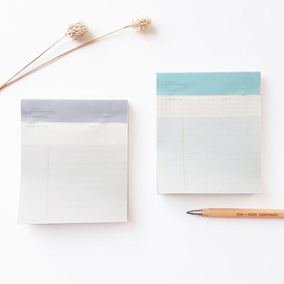 O-CHECK Checklist perforated writing notepad 90 sheets