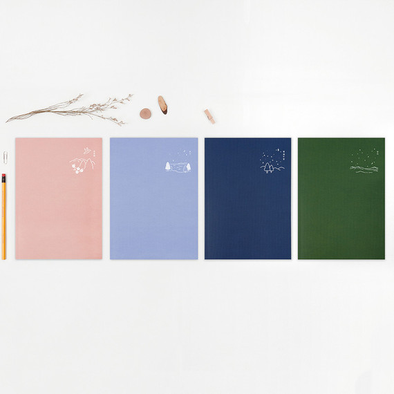Bookfriends Korean literature lined notebook 64 pages