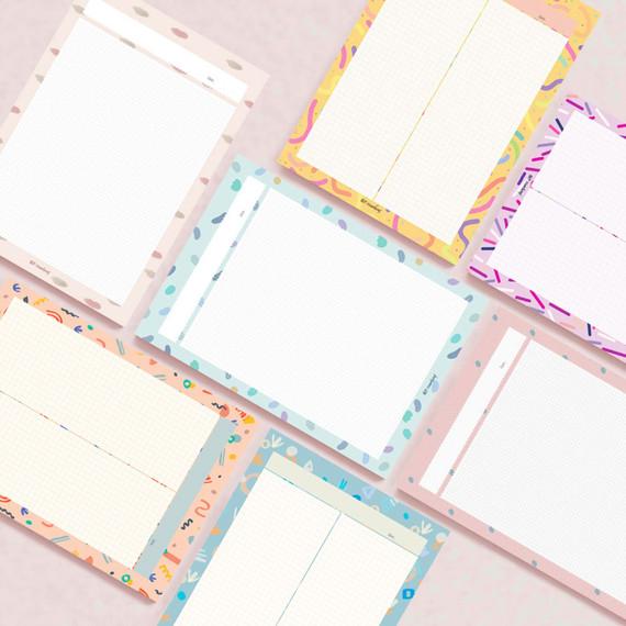 Oh-ssumthing O-ssum B5 size grid memo notes notepad