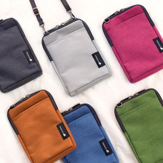 Byfulldesign Light crossbody bag with detachable strap