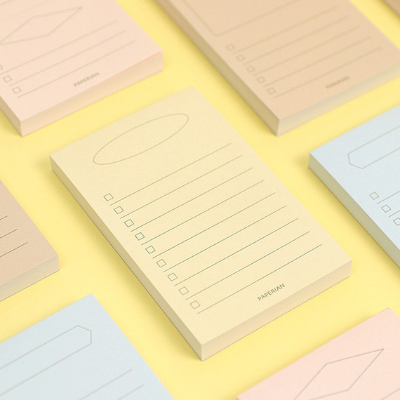 PAPERIAN Make a memo my checklist notepad