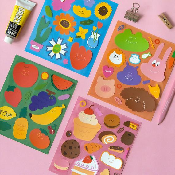 Ardium Colorful decorative removable sticker