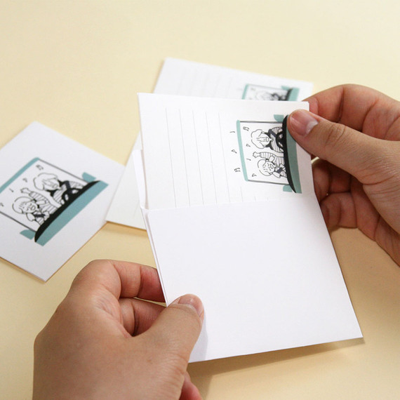 DESIGN GOMGOM My You small letter and envelope set