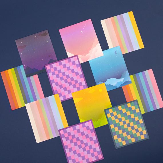 Ardium My Color upper case Alphabet sticker