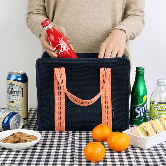 Monopoly Air mesh insulated lunch tote bag