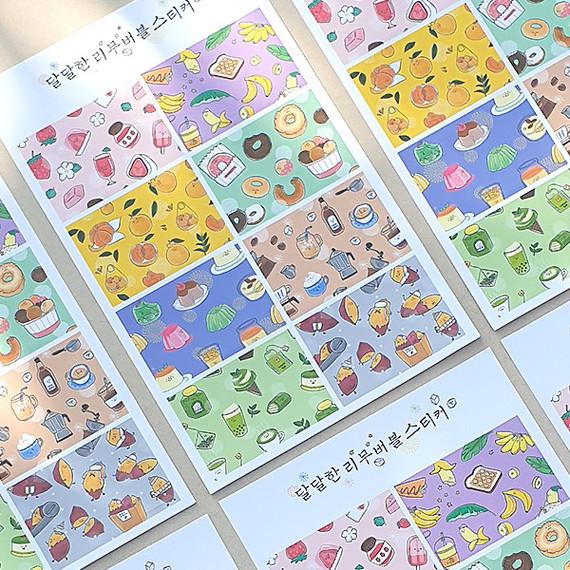 N.IVY Sweet removable sticker set