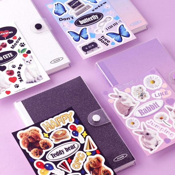 Wanna This Object dateless weekly diary with sticker