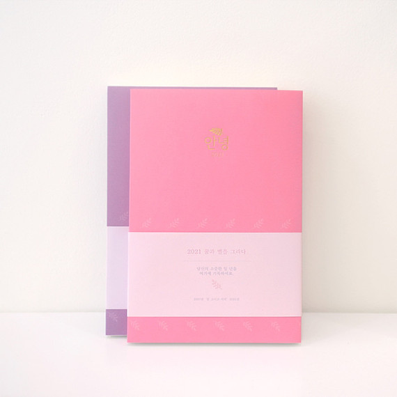 3AL Hello 2021 dated weekly diary planner