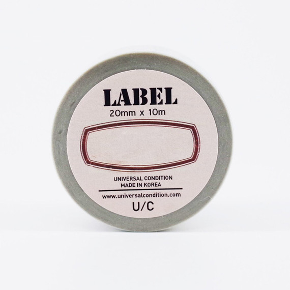 UNIVERSAL CONDITION Label paper masking tape