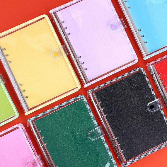 Wanna This Picnic check A5 6-ring PVC binder