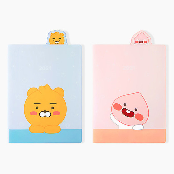 Kakao Friends 2021 Friends bookmark dated weekly diary