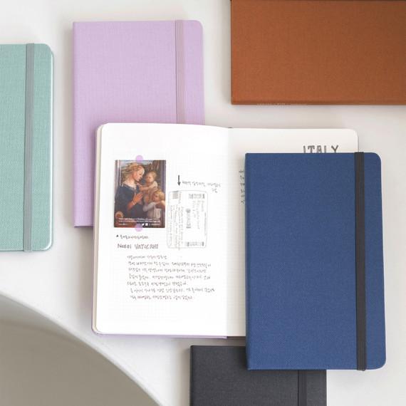 Byfulldesign Making memory medium grid notebook ver2