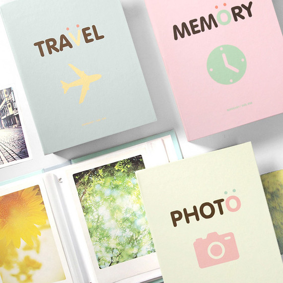 Bookfriends Simple 4X6 slip in 80 pockets photo album
