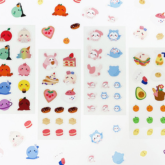Flying Whales Marimong PVC clear sticker