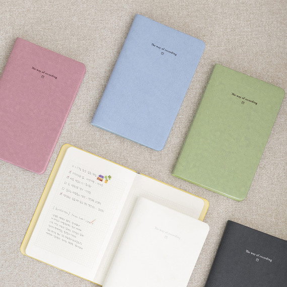 Byfulldesign The way of recording grid notebook