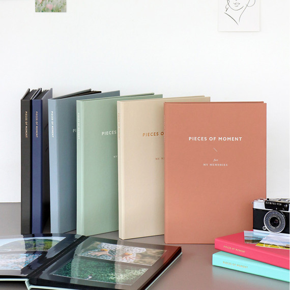 Classy pieces of moment self adhesive photo album