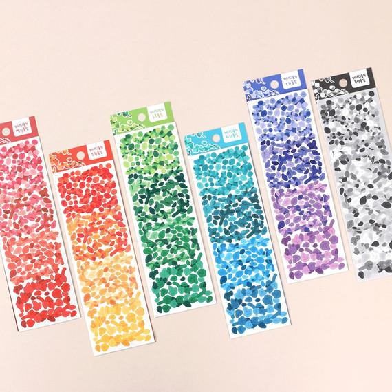 Wanna This Forest's Leaf Paper Sticker
