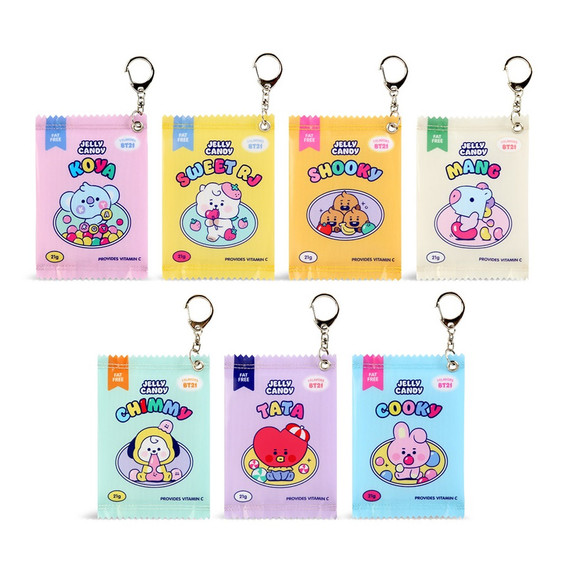 BT21 Jelly Candy Baby Snack Package Small Zipper Pouch