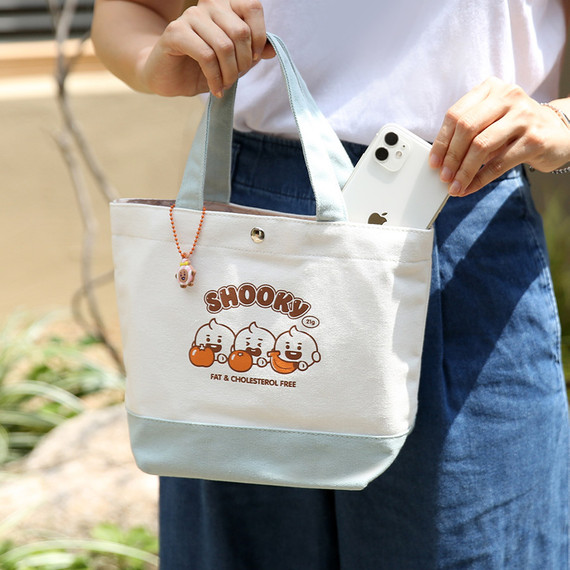 Usage example - BT21 Jelly Candy Baby Cotton Tote Bag