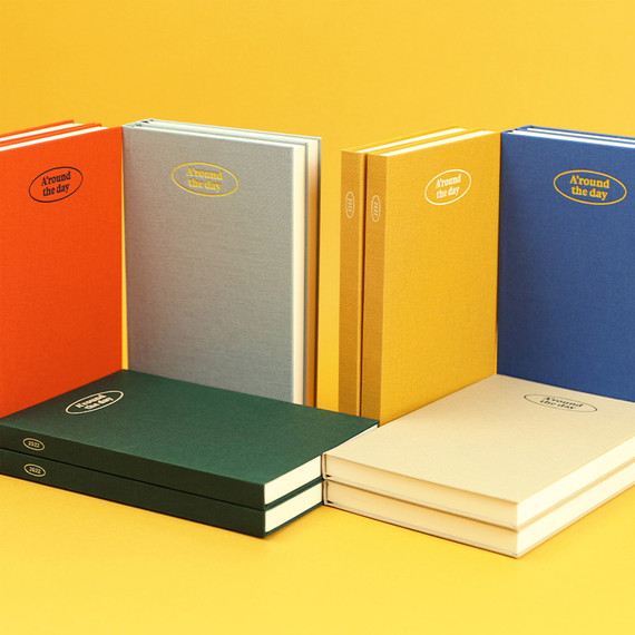 Paperian 2022 A'round the Day B6 dated weekly diary planner