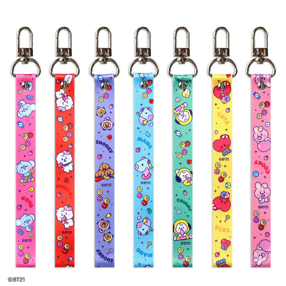 BT21 Jelly Candy Baby Hand Strap