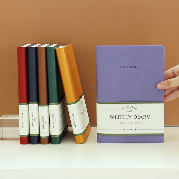 Indigo 2022 Official A5 Dated Weekly Diary Planner