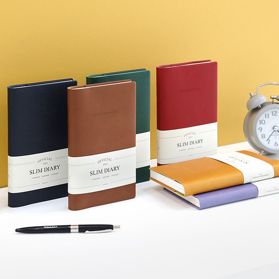 Indigo 2022 Official Slim Dated Monthly Diary Planner