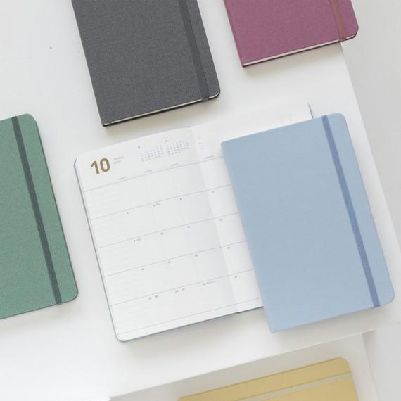Byfulldesign 2022 Making memory medium dated monthly planner