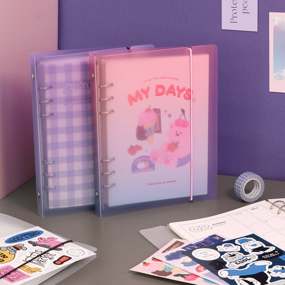 ICONIC 2022 My Vibe 6-ring Dated Weekly Diary Planner