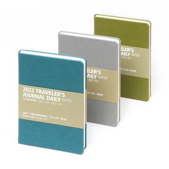 MINIBUS 2022 Traveler's Dated Daily Diary journal