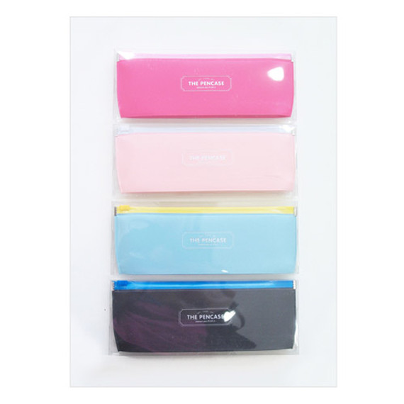 Light and simple zip lock the pen case