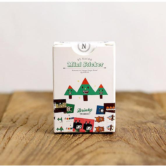 Nacoo Drinky small label sticker set