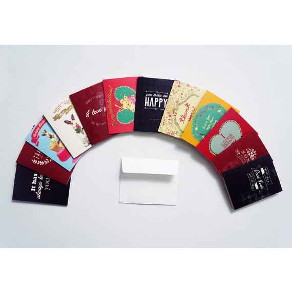 Mini message card