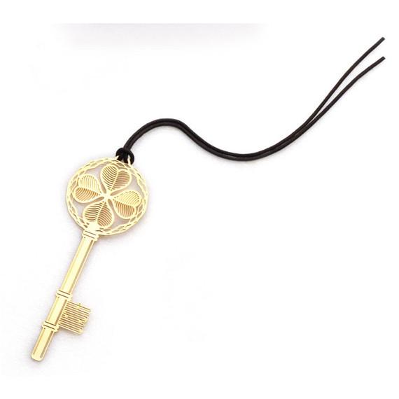 Golden key bookmark