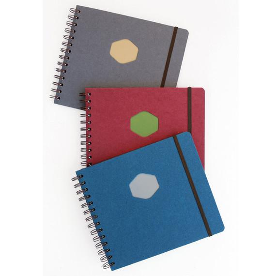 Les naturals wirebound scrap notebook