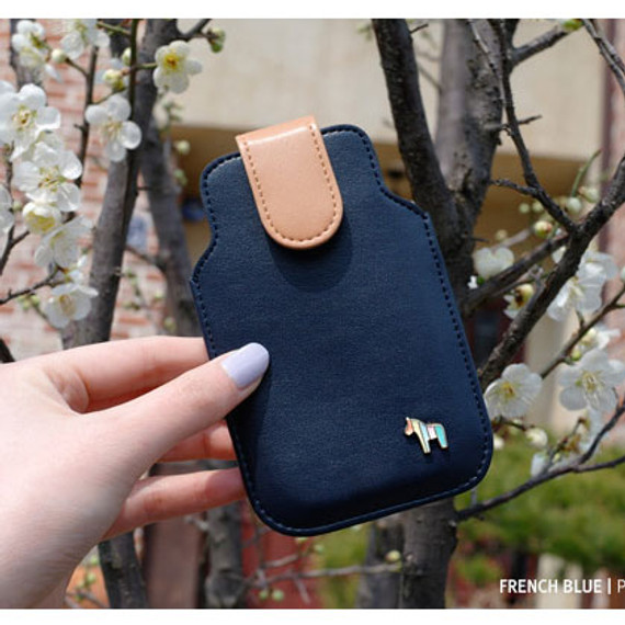 Pony iPhone case - french blue