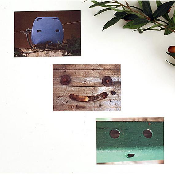 Smile photo postcard set