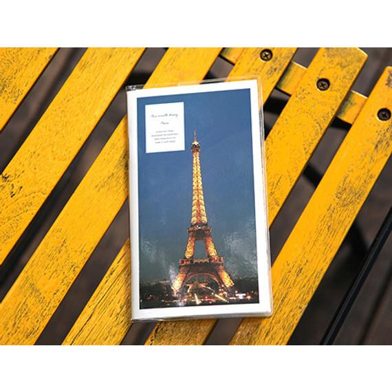 2016 Paris one month undated diary
