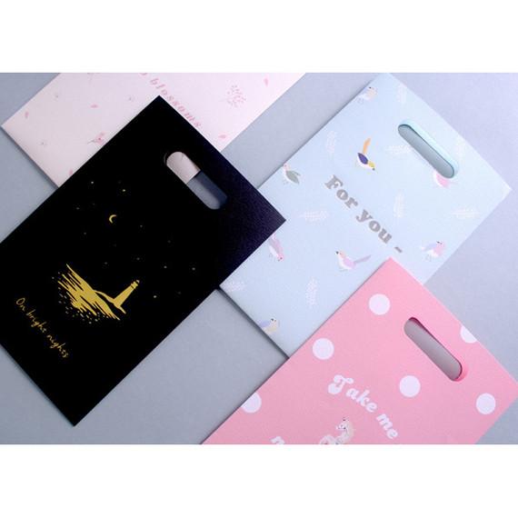 illustration paper bag set