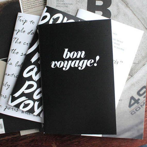 the blank plain notebook