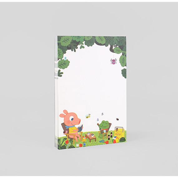 Romantic and Vintage picnic letter paper pad