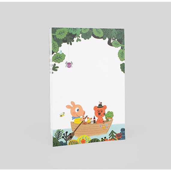 Romantic and Vintage lake letter paper pad