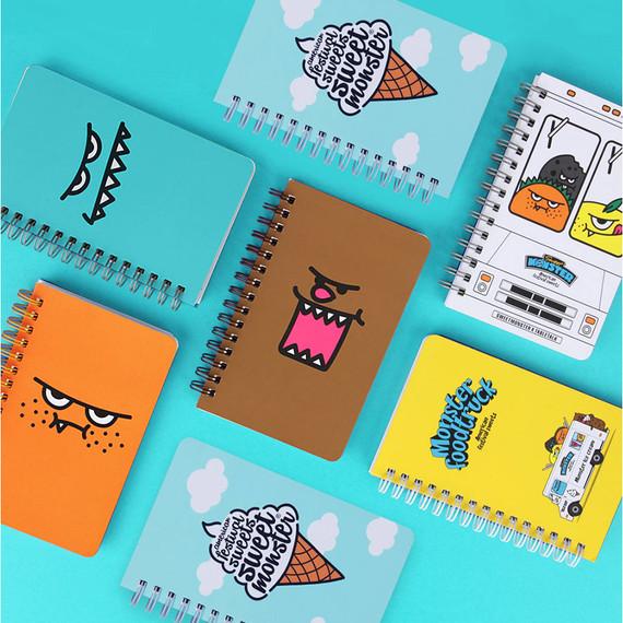 Antenna shop Monster wirebound lined handy notebook