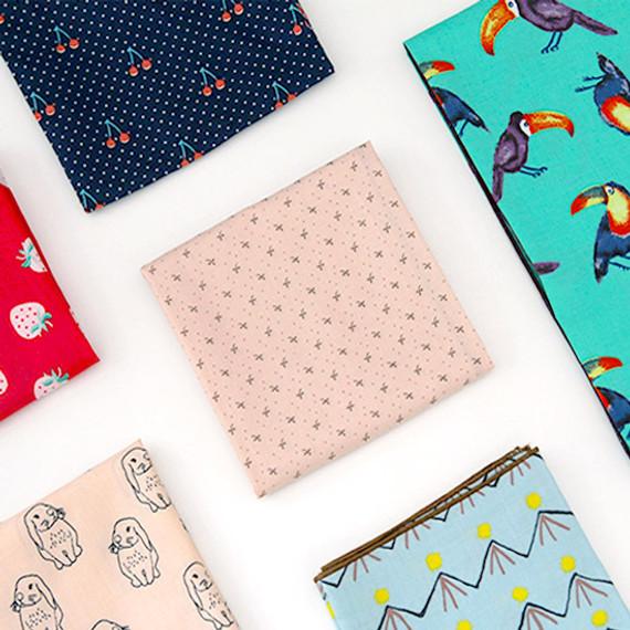 Florence pattern cotton handkerchief