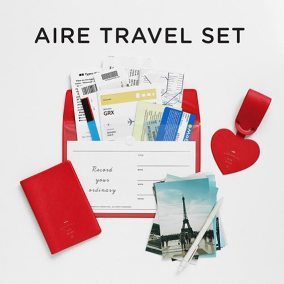 Aire delce travel essentials set