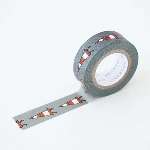 "Jam Jam cone 0.59""X11yd single deco masking tape"