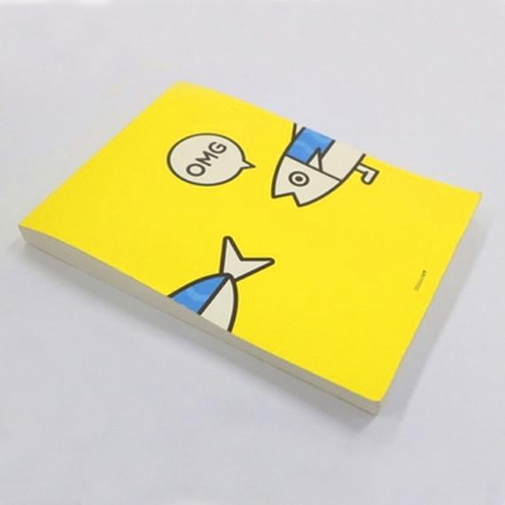 Ggo deung o drawing note pad