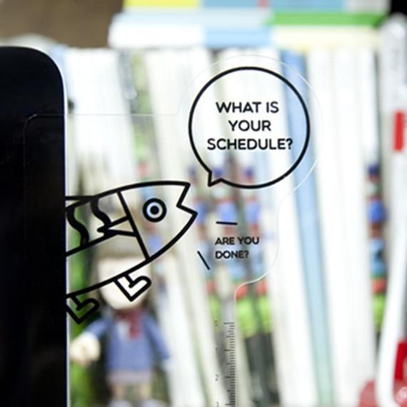 DESIGN IVY Ggo deung o monitor clear memo board